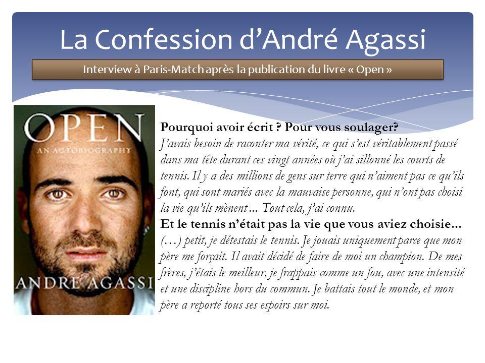 La Confession d'André Agassi