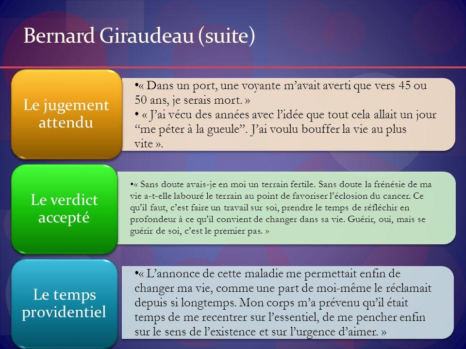 Bernard Giraudeau (suite)