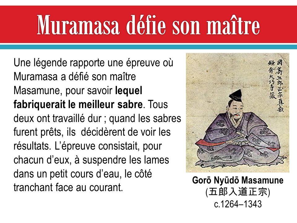 Muramasa défie son maître