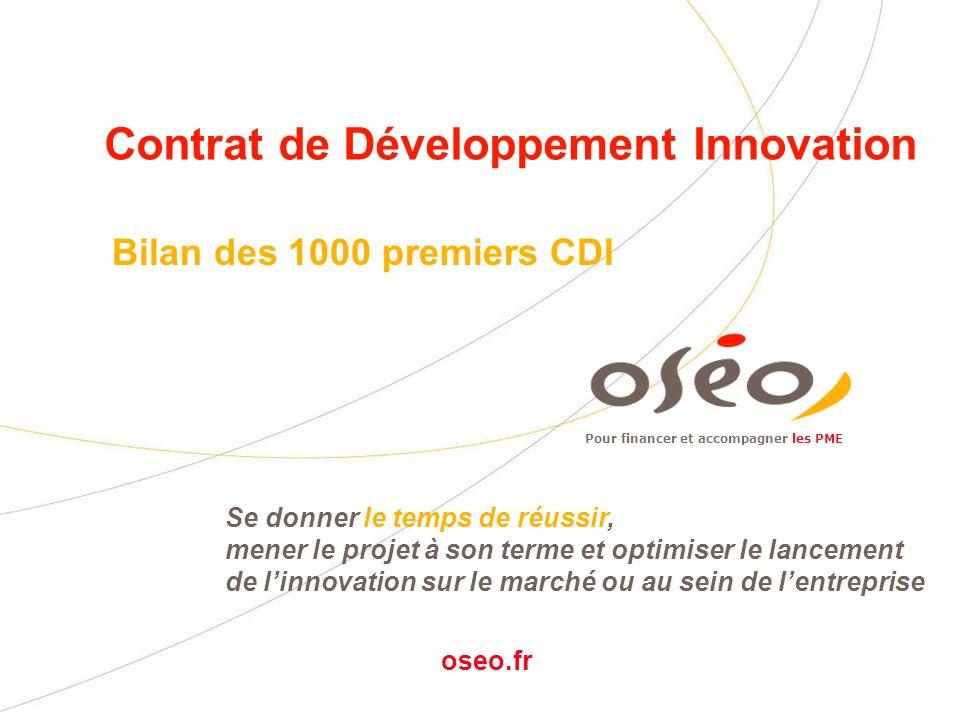 Contrat de Développement Innovation