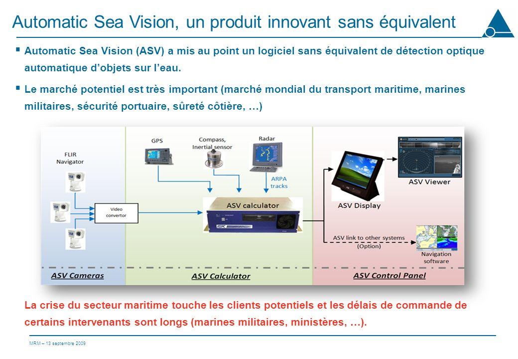 Automatic Sea Vision, un produit innovant sans équivalent