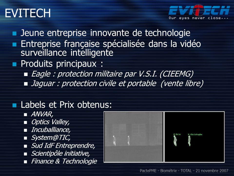 EVITECH Jeune entreprise innovante de technologie