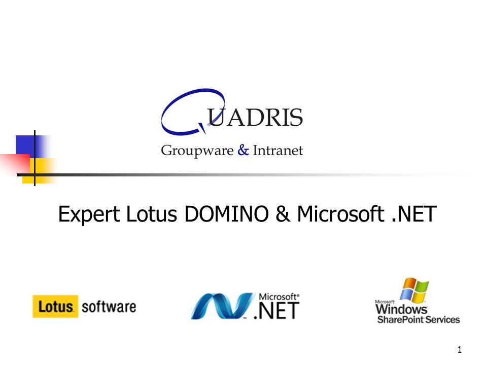 Expert Lotus DOMINO & Microsoft .NET
