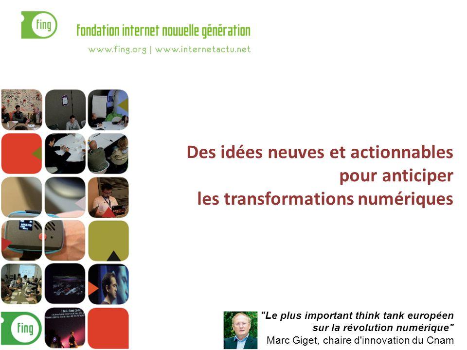 Des idées neuves et actionnables pour anticiper les transformations numériques
