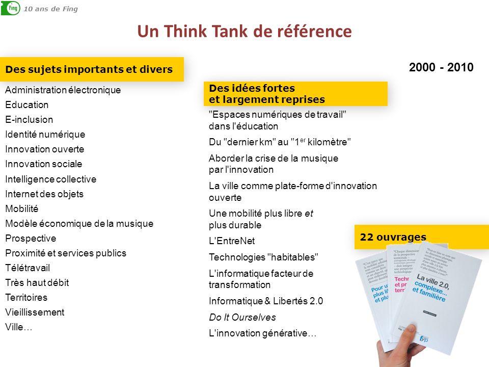 Un Think Tank de référence