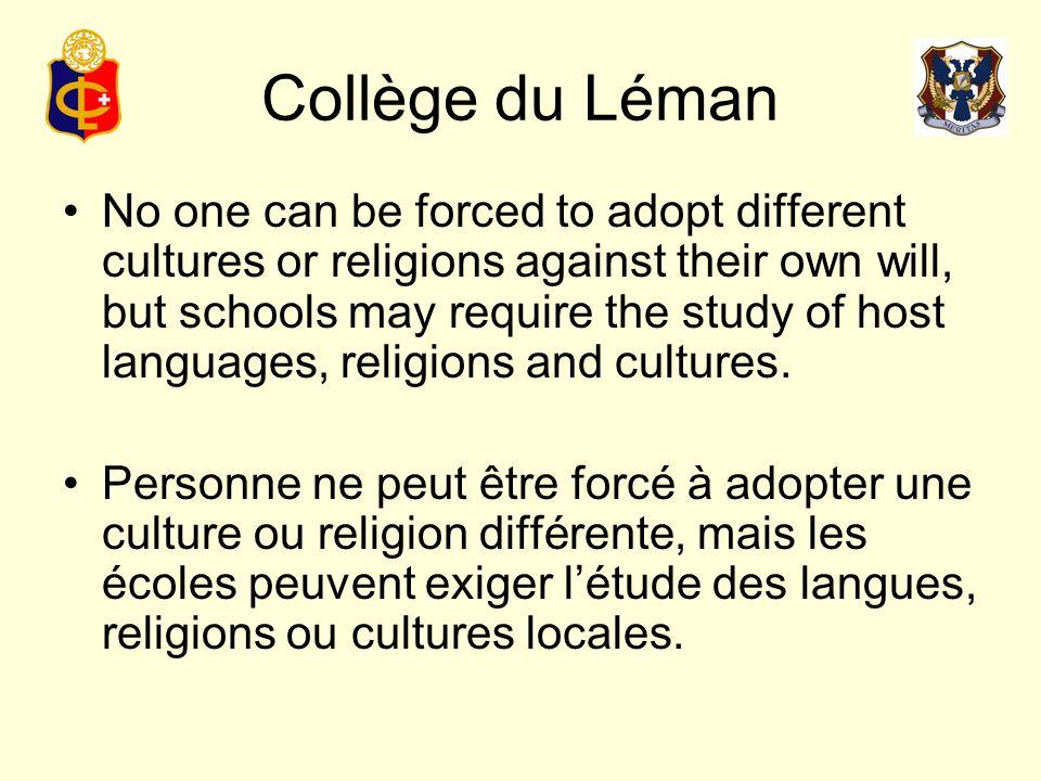 Collège du Léman