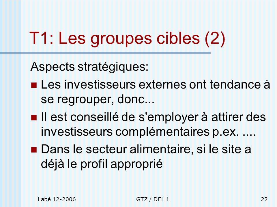 T1: Les groupes cibles (2)