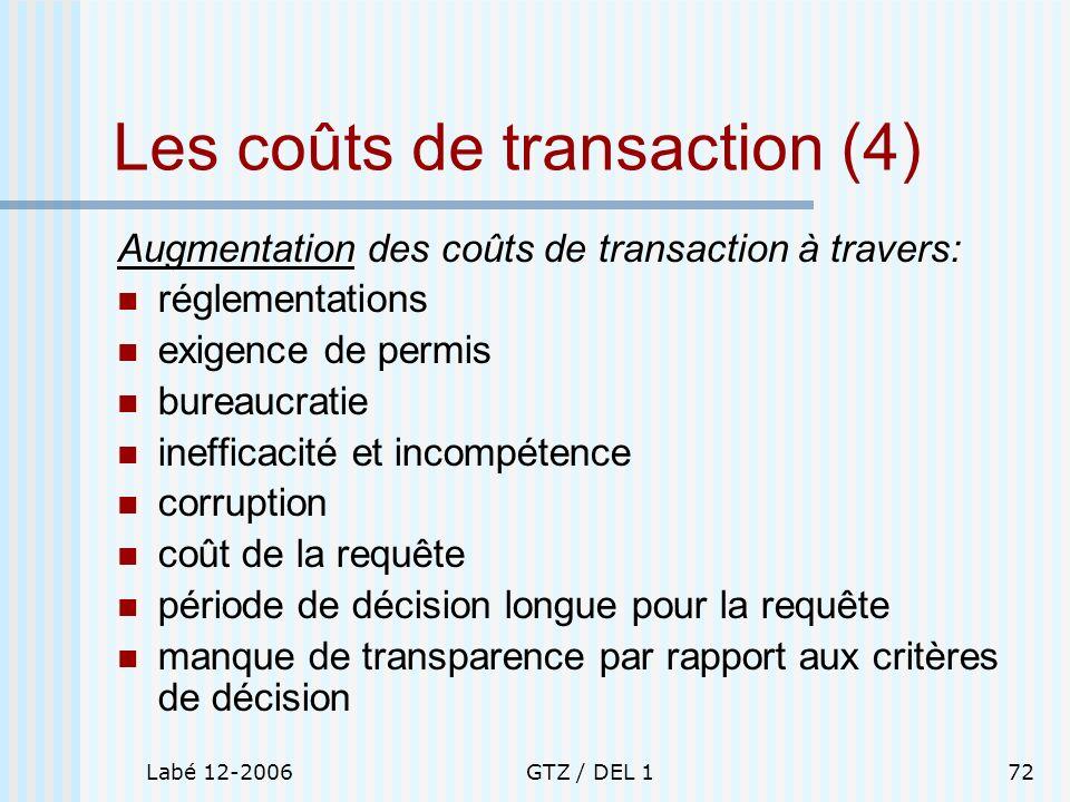 Les coûts de transaction (4)