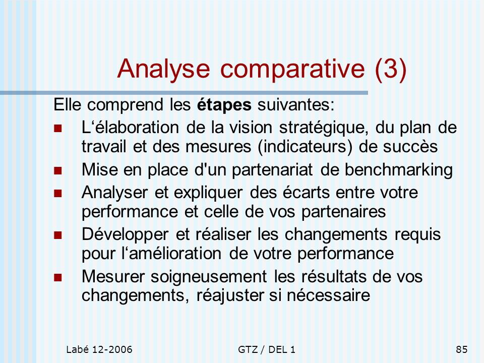 Analyse comparative (3)