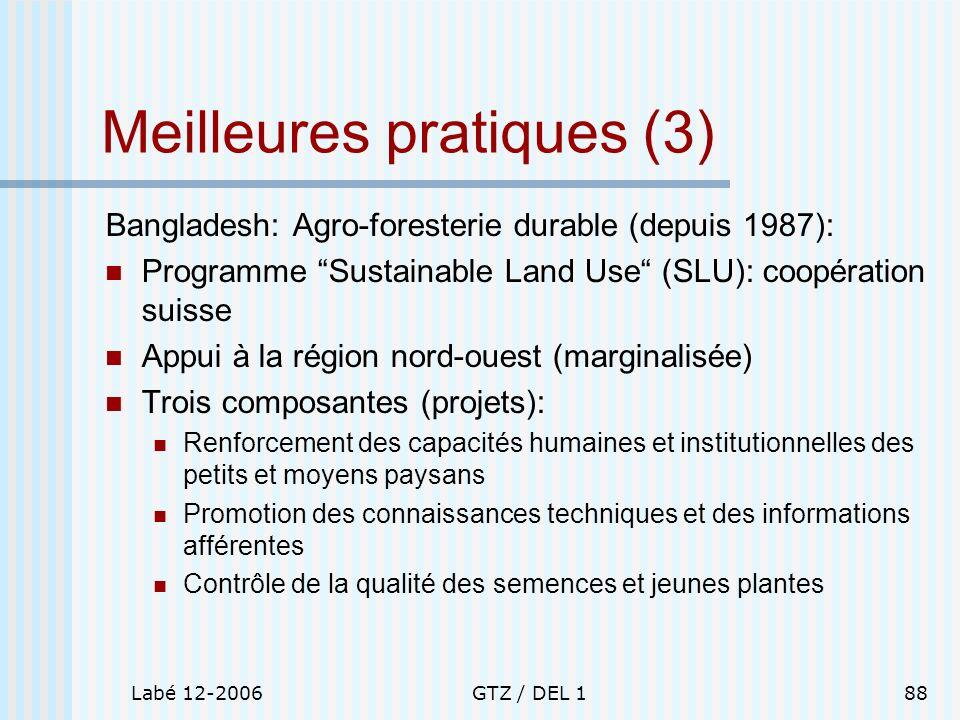 Meilleures pratiques (3)