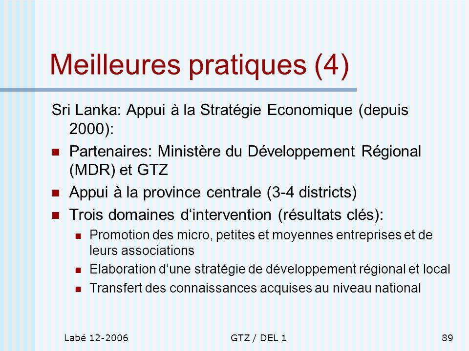 Meilleures pratiques (4)