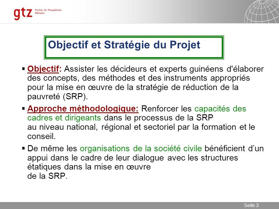Objectif et Stratégie du Projet