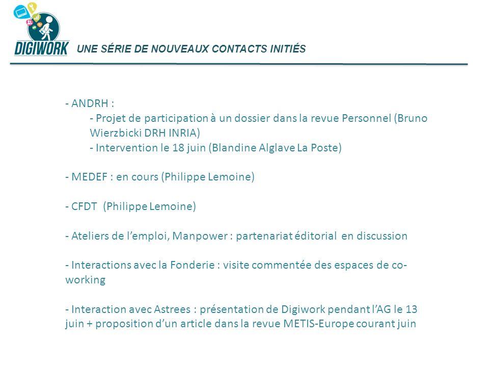 Intervention le 18 juin (Blandine Alglave La Poste)