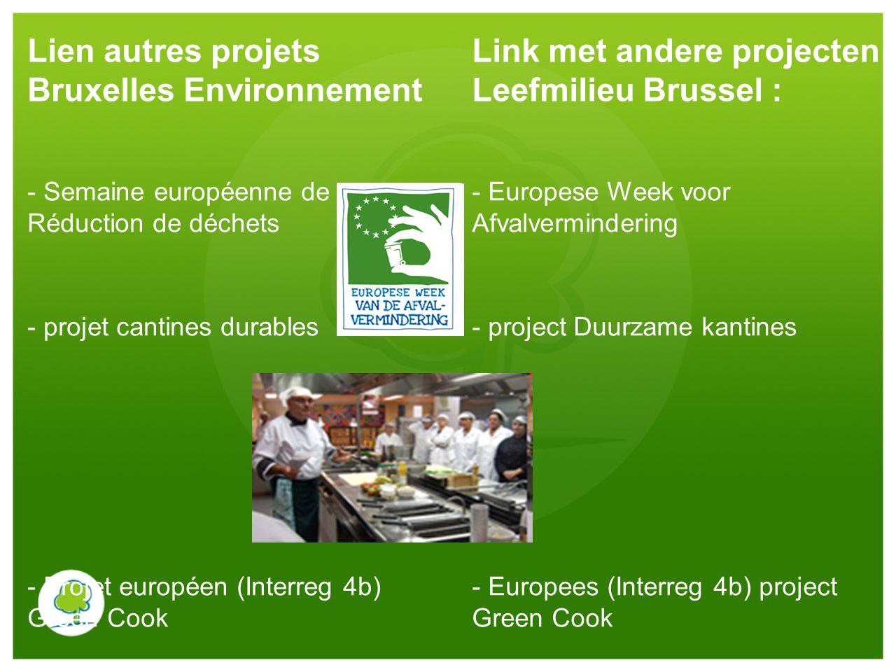 Lien autres projets Bruxelles Environnement