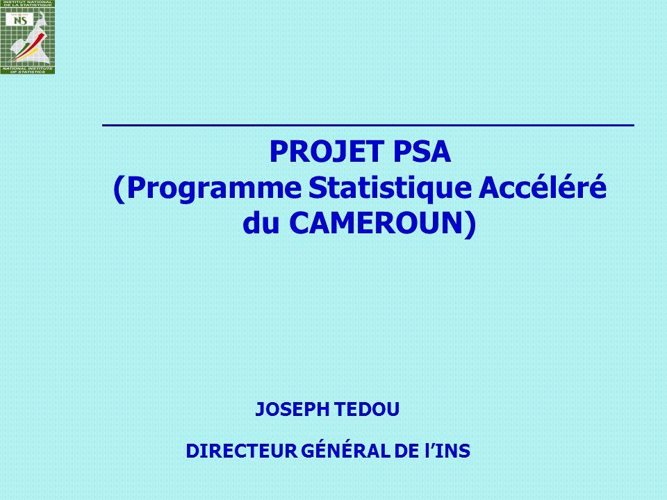 PROJET PSA (Programme Statistique Accéléré du CAMEROUN)