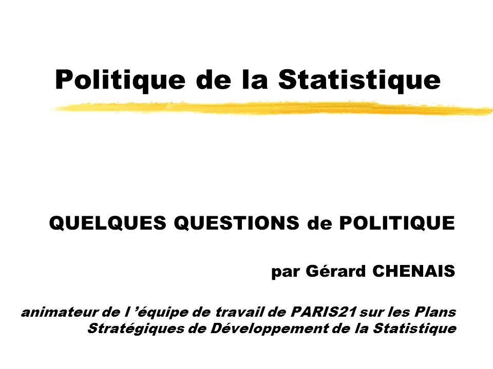 Politique de la Statistique