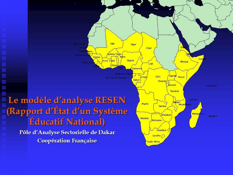 Pôle d'Analyse Sectorielle de Dakar Coopération Française