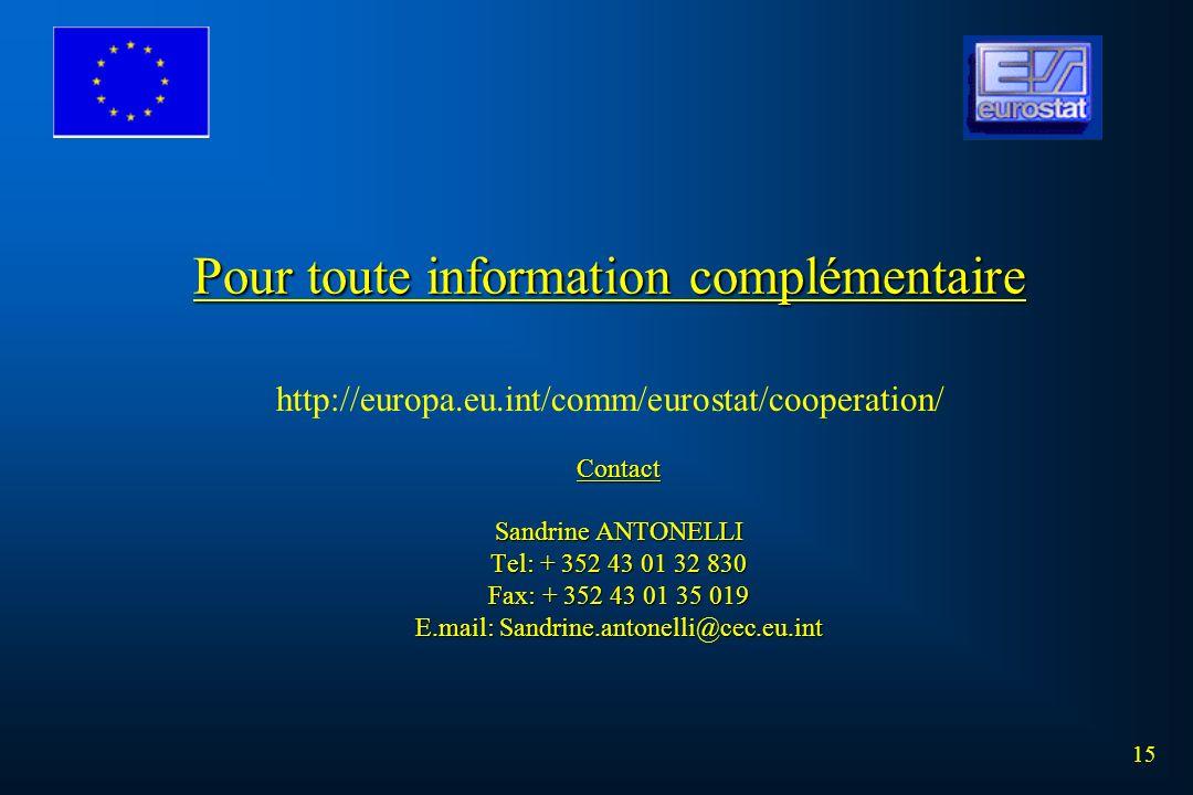 LA COOPERATION STATISTIQUE DE L'UNION EUROPEENNE EN