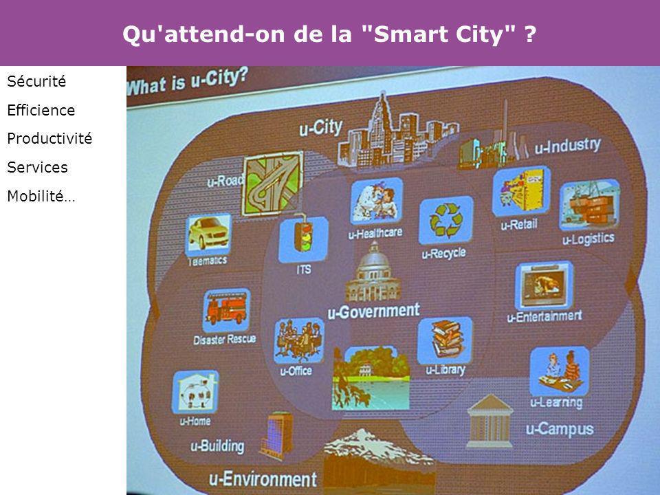 Qu attend-on de la Smart City