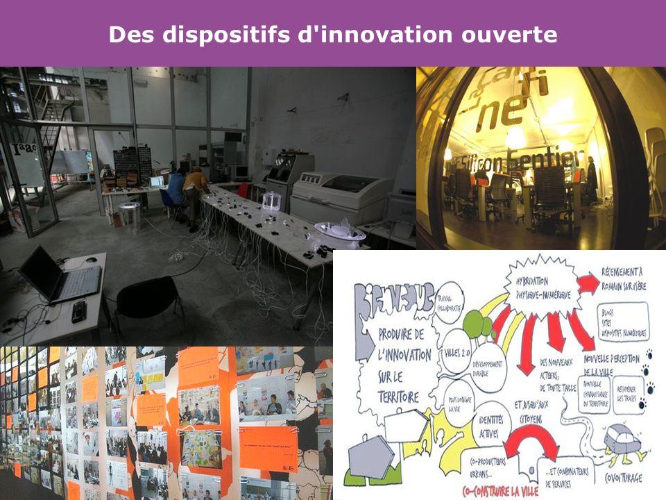Des dispositifs d innovation ouverte