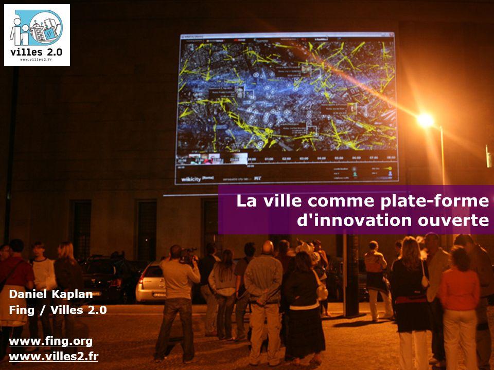 La ville comme plate-forme d innovation ouverte