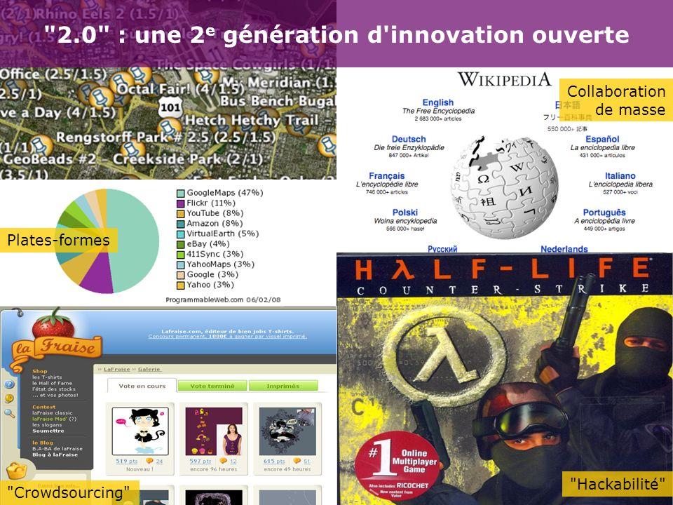 2.0 : une 2e génération d innovation ouverte