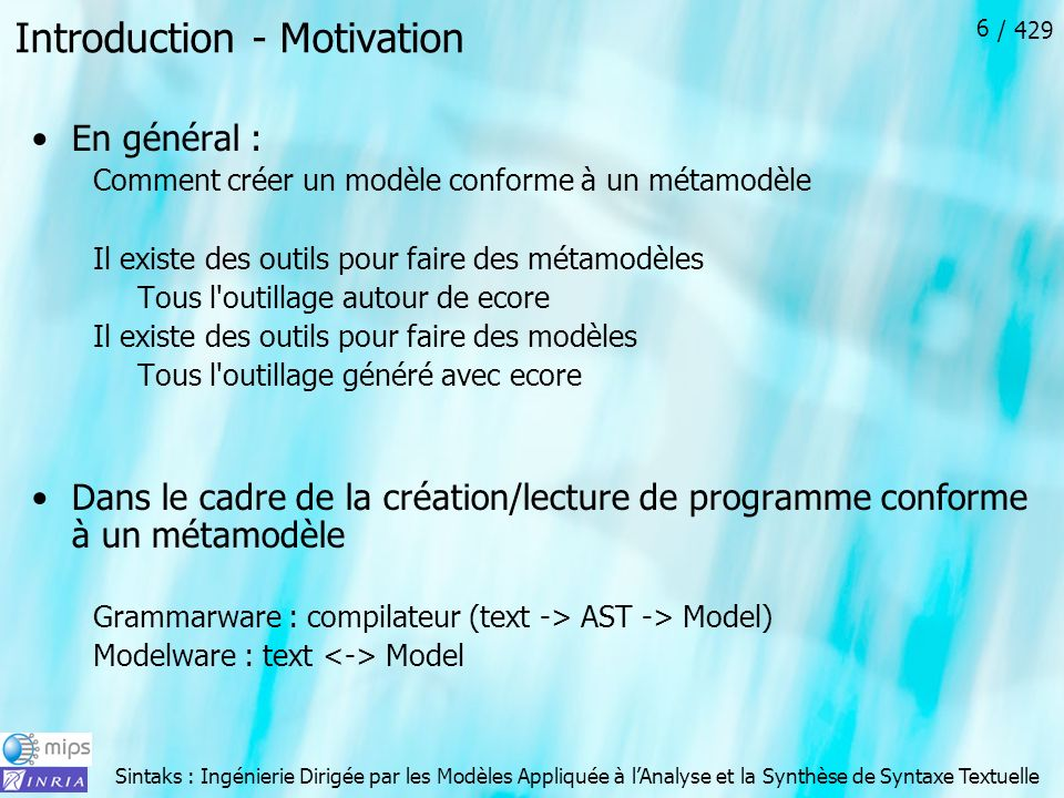 Introduction - Motivation