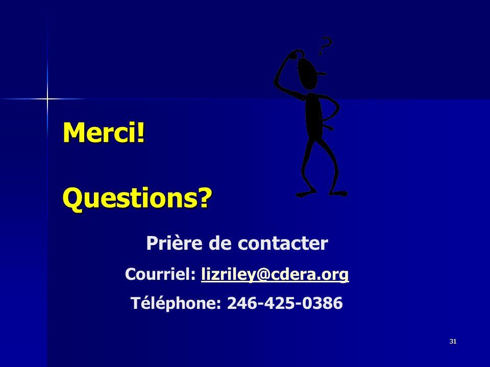 Courriel: lizriley@cdera.org