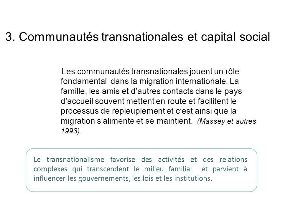3. Communautés transnationales et capital social