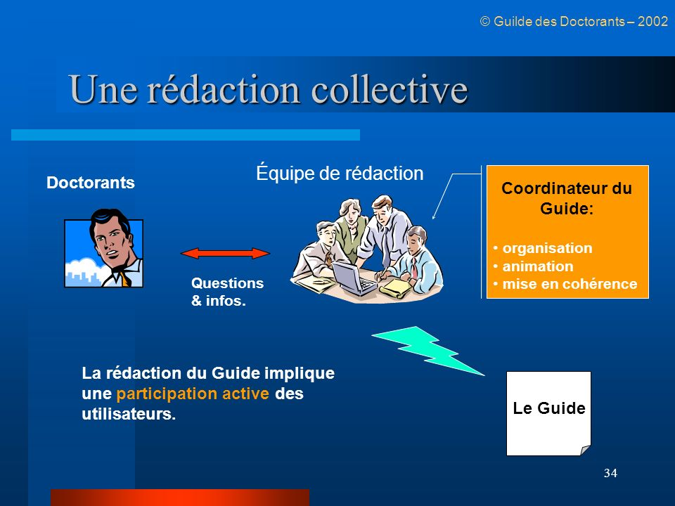 Une rédaction collective