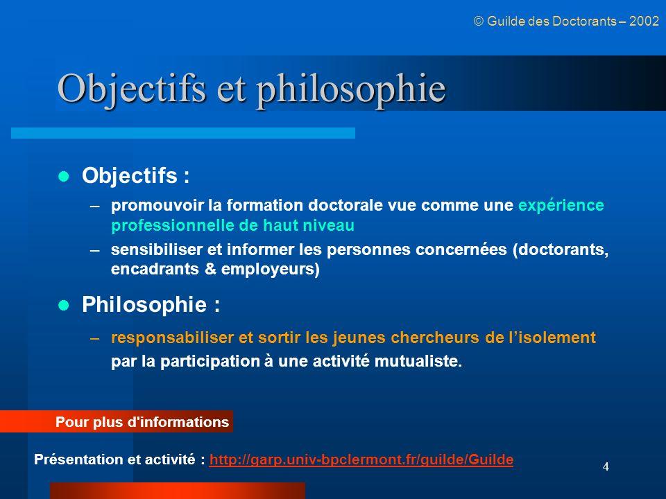 Objectifs et philosophie