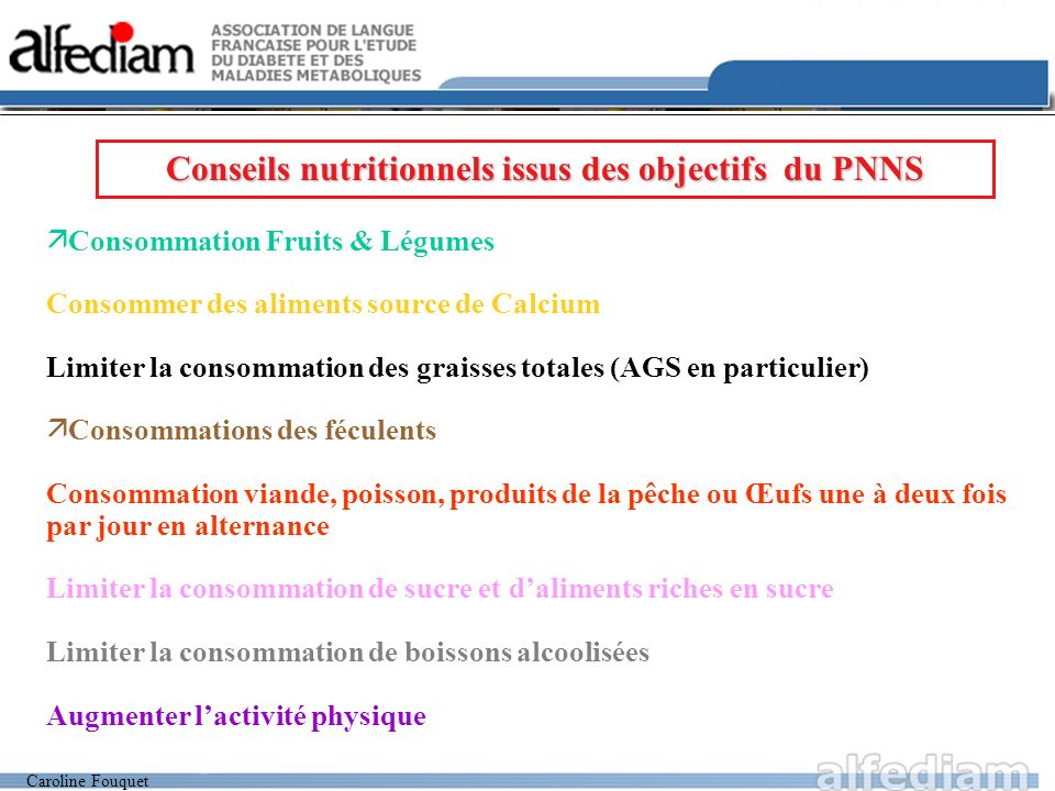 L ments clefs du programme national nutrition sant pnns for Alternance restauration collective