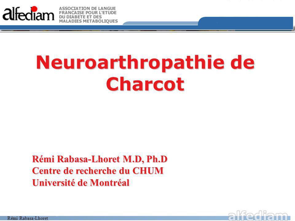 Neuroarthropathie de Charcot