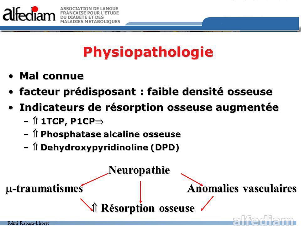 Physiopathologie Neuropathie -traumatismes Anomalies vasculaires