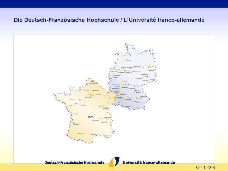 Die Deutsch-Französische Hochschule / L'Université franco-allemande