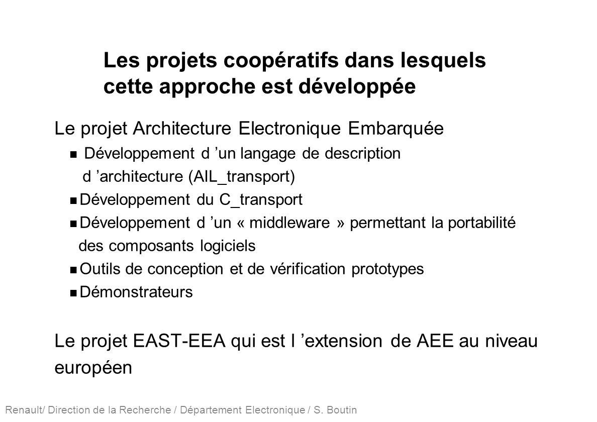 Les projets coopératifs dans lesquels cette approche est développée