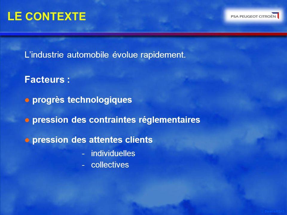 LE CONTEXTE - individuelles Facteurs :