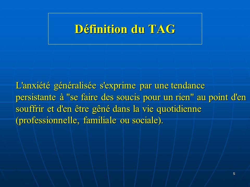 Définition du TAG