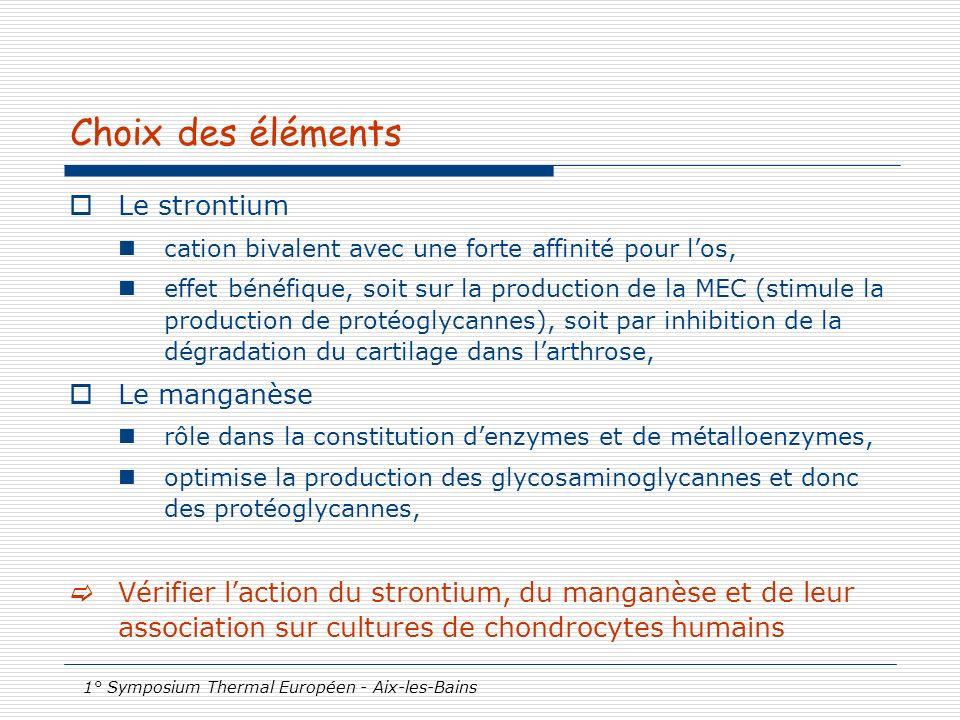 1° Symposium Thermal Européen - Aix-les-Bains