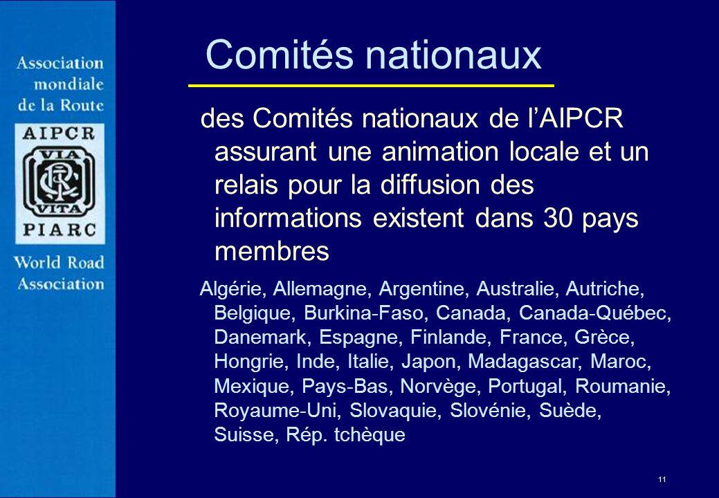 Comités nationaux