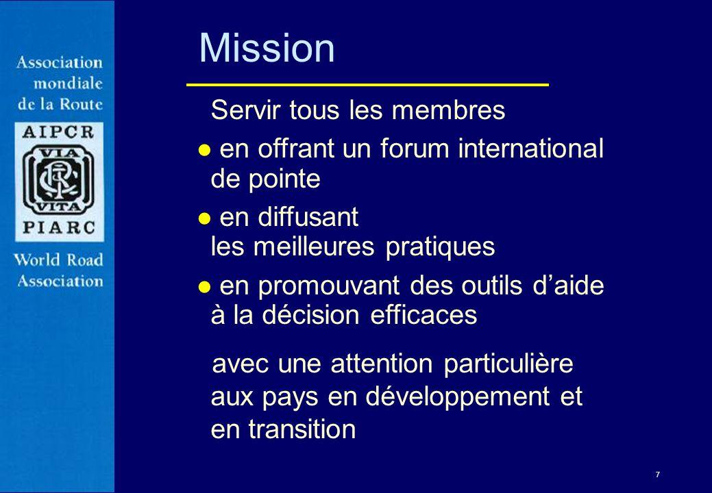 Mission Servir tous les membres