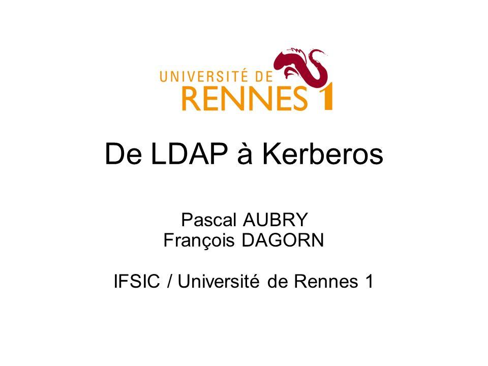 Pascal AUBRY François DAGORN IFSIC / Université de Rennes 1