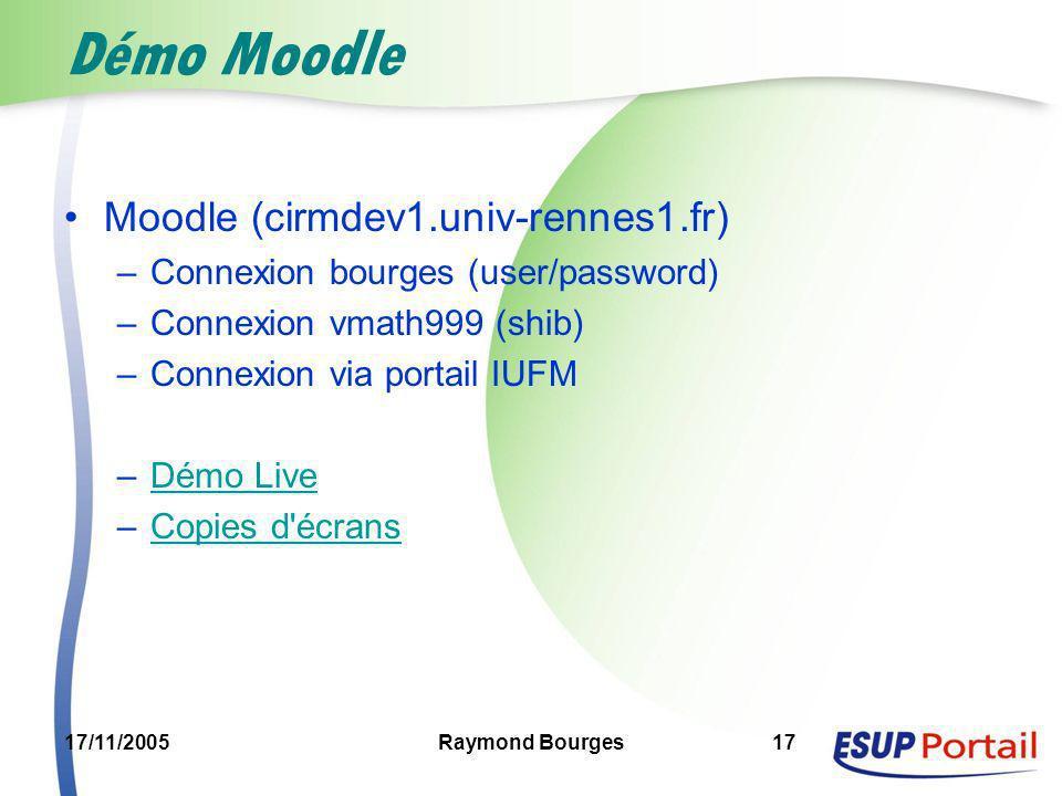 Démo Moodle Moodle (cirmdev1.univ-rennes1.fr)