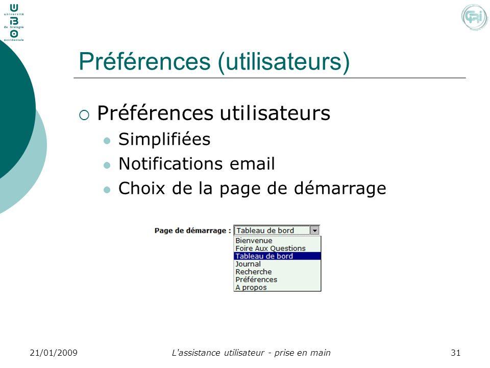 Préférences (utilisateurs)