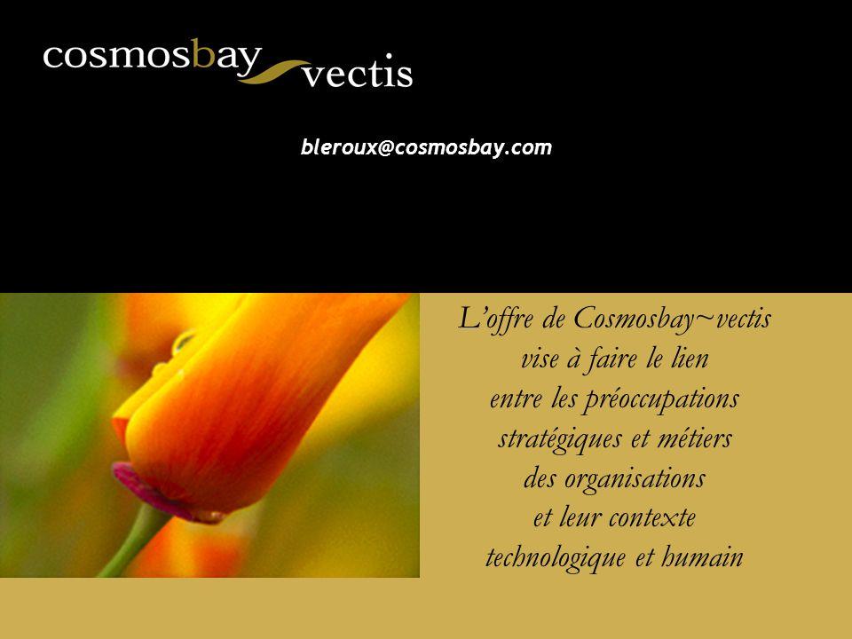 L'offre de Cosmosbay~vectis vise à faire le lien