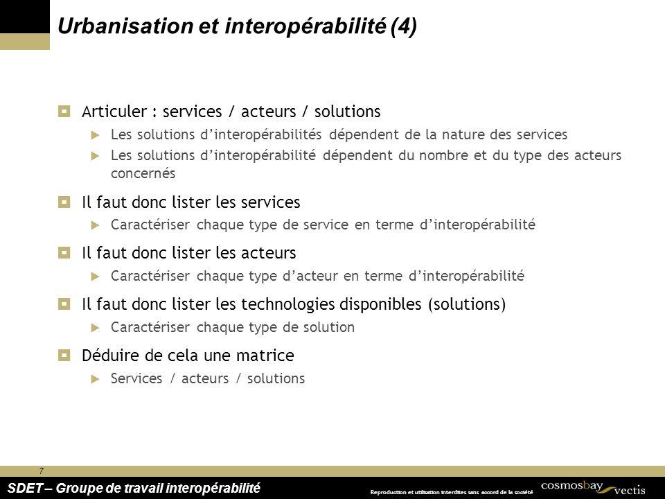 Urbanisation et interopérabilité (4)