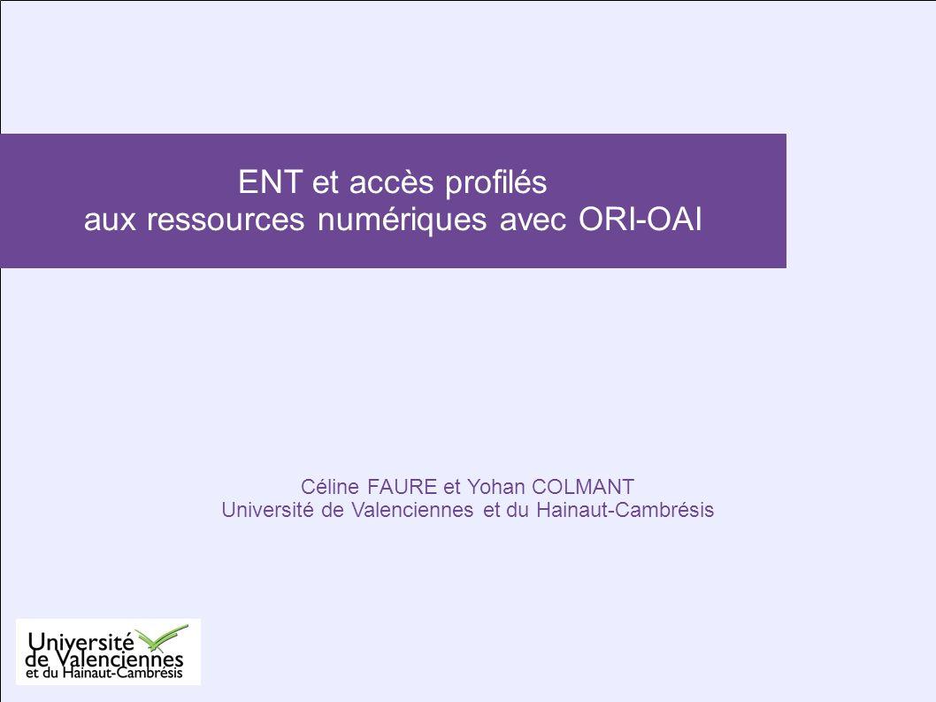 aux ressources numériques avec ORI-OAI