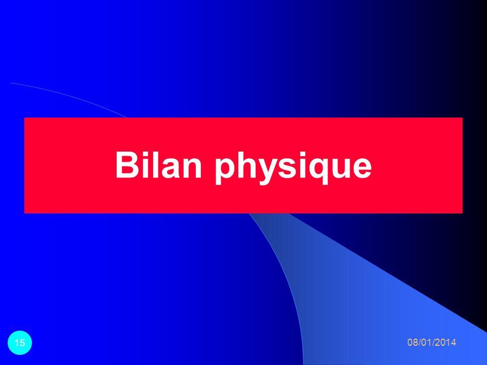 Bilan physique 15 26/03/2017