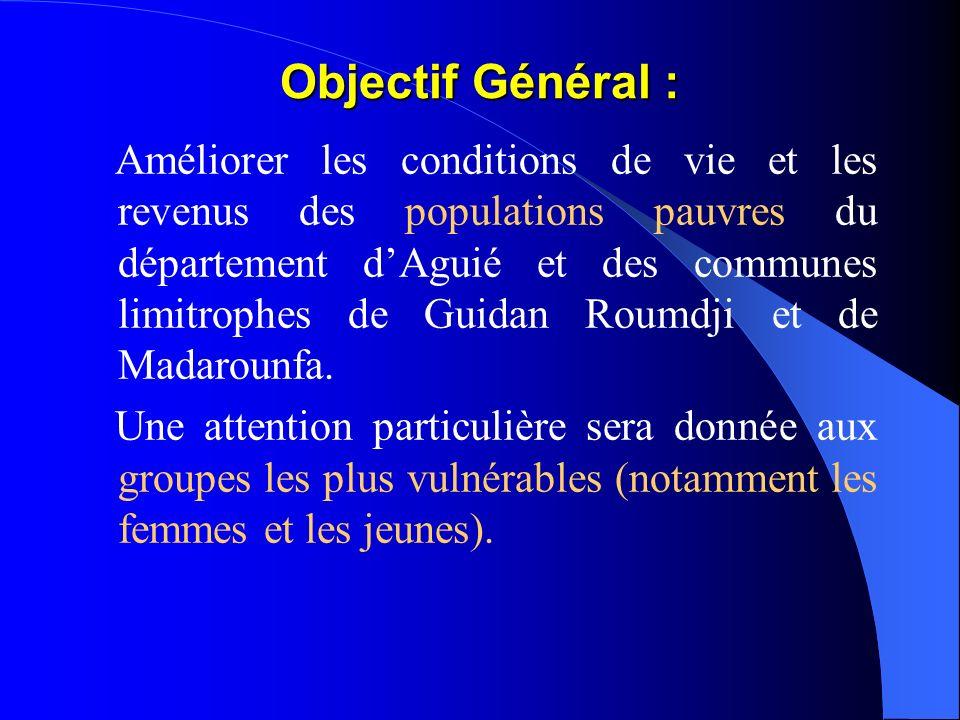 Objectif Général :