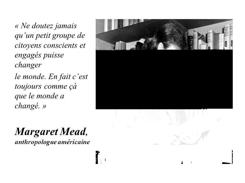Margaret Mead, anthropologue américaine